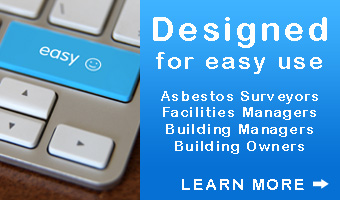 Asbestos database designed for easy use