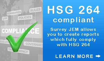HSG264 Compliant asbestos survey software